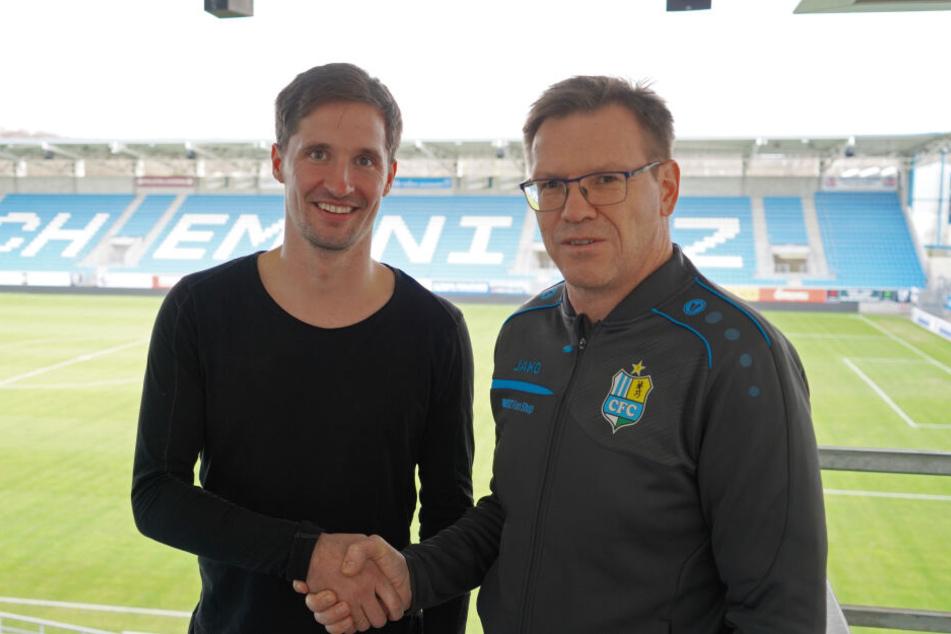Der Chemnitzer FC hatte am 01. Dezember 2019 Außenverteidiger Sandro Sirigu unter Vertrag genommen (Archivbild).