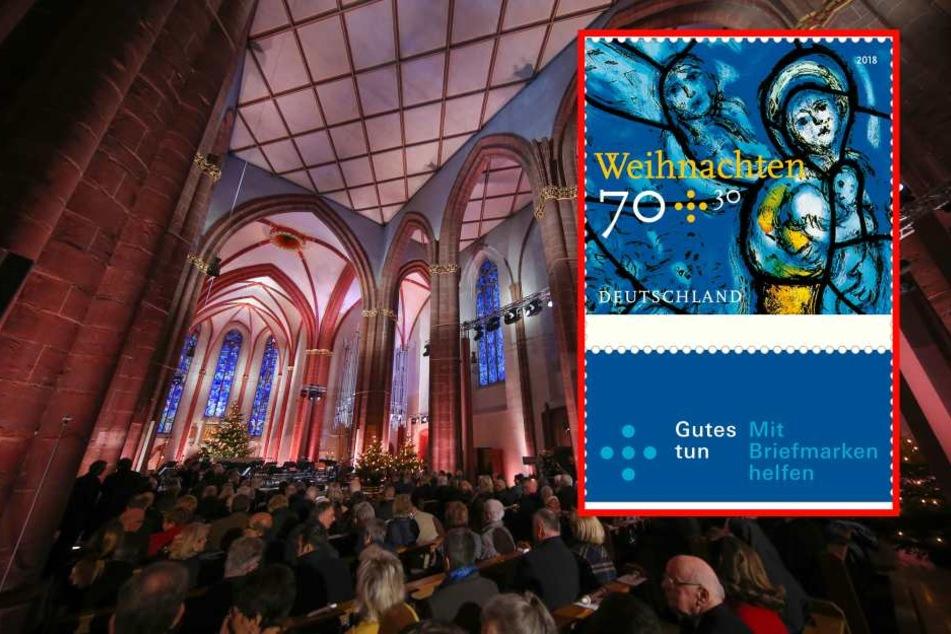 Das ist Deutschlands Weihnachtsbriefmarke