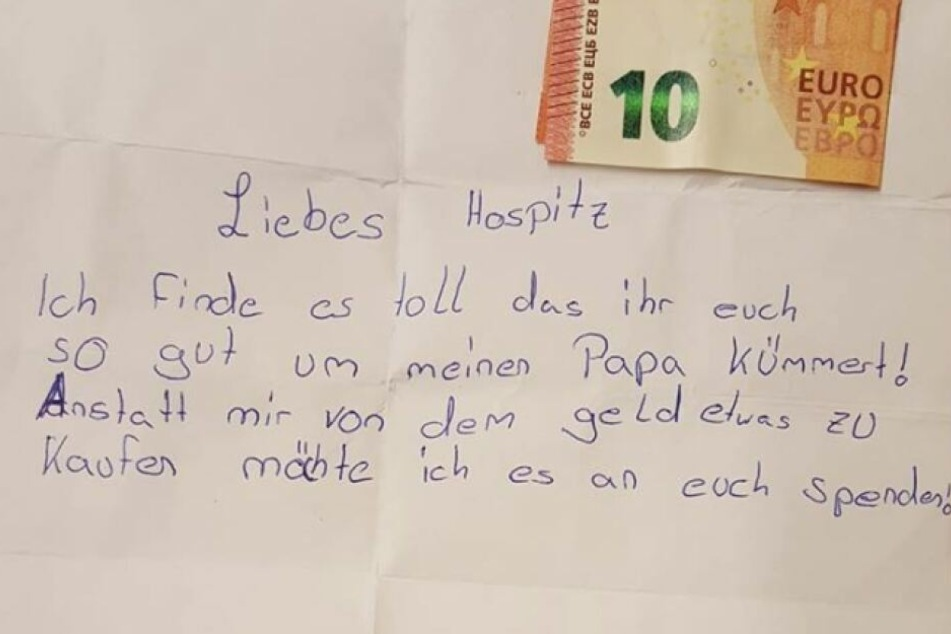 In einem rührenden Brief hat sich das Mädchen nun an die Mitarbeiter gewandt.