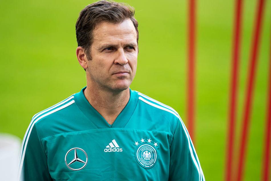 DFB-Manager Oliver Bierhoff gibt die EM-Endrunde als klares Ziel aus.