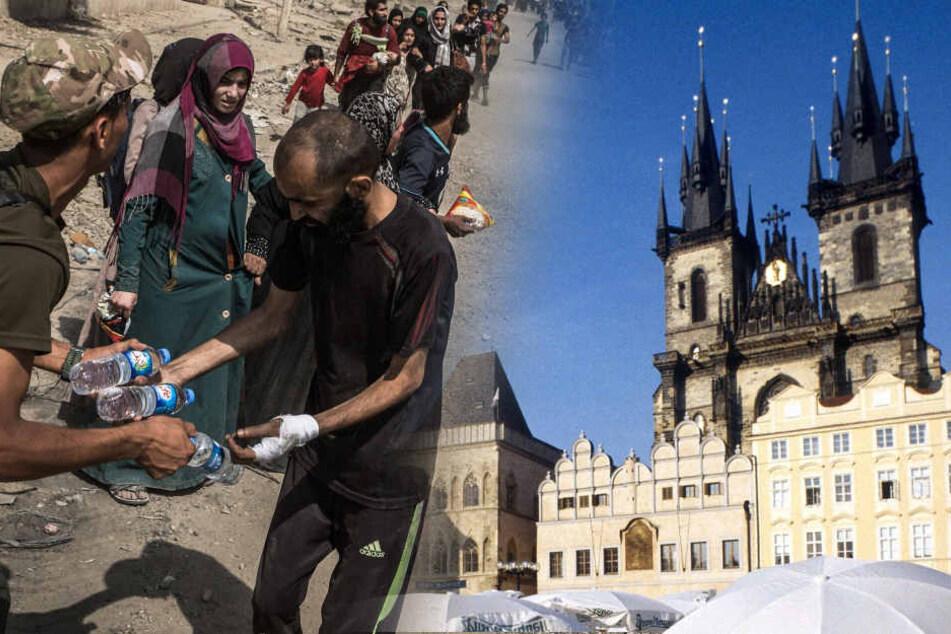 Tschechien nahm bisher nur 12 Personen im Rahmen des Programms auf.