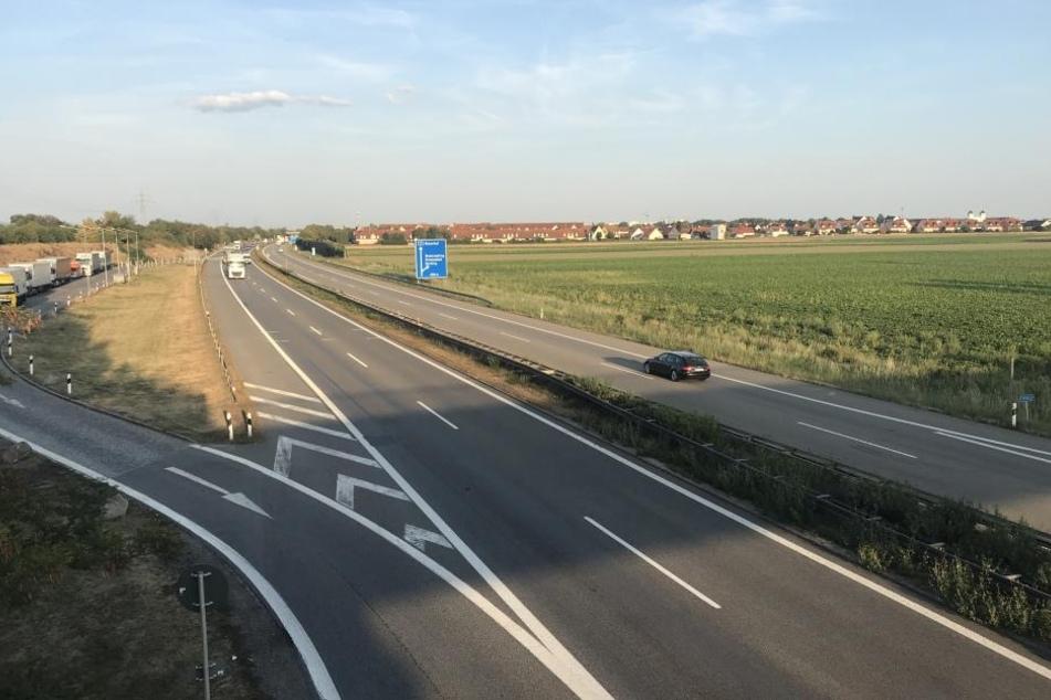 Zwischen der Anschlussstelle Regensburg Ost und Neutraubling wird die A3 gesperrt.