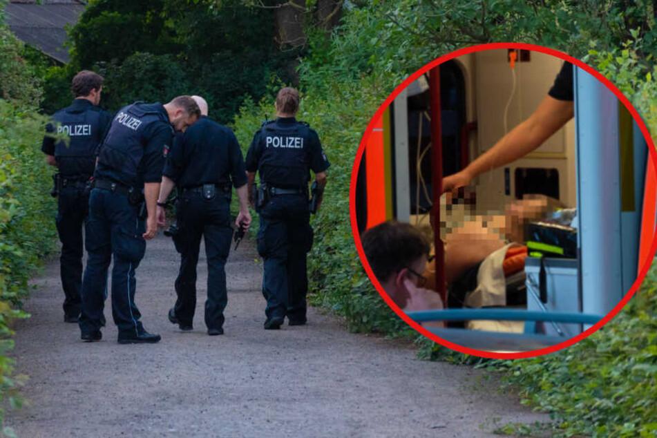 Mysteriöser Vorfall im Kleingartenverein: Frau steckt Messer im Bauch