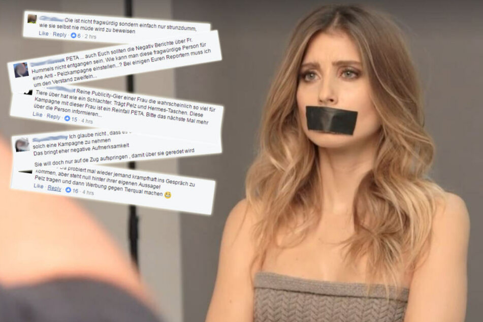Nach Kampagne mit Cathy Hummels: Peta kassiert Shitstorm