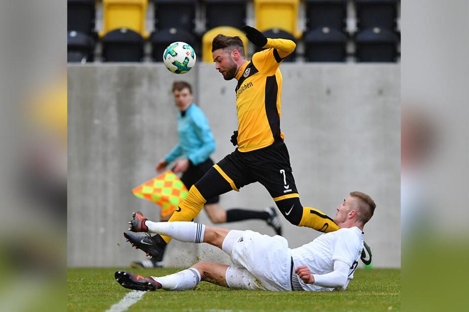 Neu für Abwehr: Der Tscheche Jan Kral kommt aus Mlada Boleslav - hier im Test im Sommer bei Dynamo Dresden.