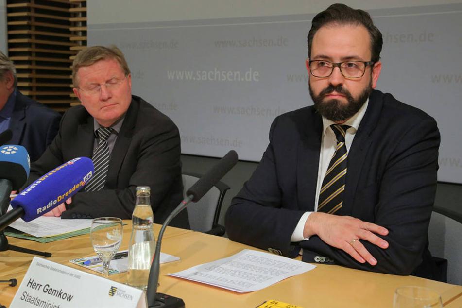 Sachsens Justizminister Sebastian Gemkow (38) sieht keine Veranlassung für einen Rücktritt.