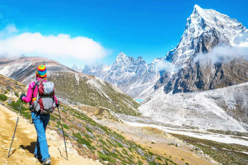 Drei Touristen sind innerhalb von neun Tagen in der Nähe des Mount Everest gestorben. Doch keiner der drei hatte ihn bestiegen. (Symbolbild)