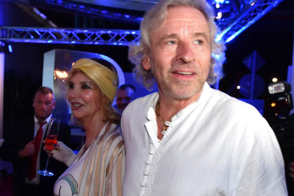Thomas Gottschalk und seine Frau Thea bei einer öffentlichen Veranstaltungen - inzwischen sind die beiden getrennt.