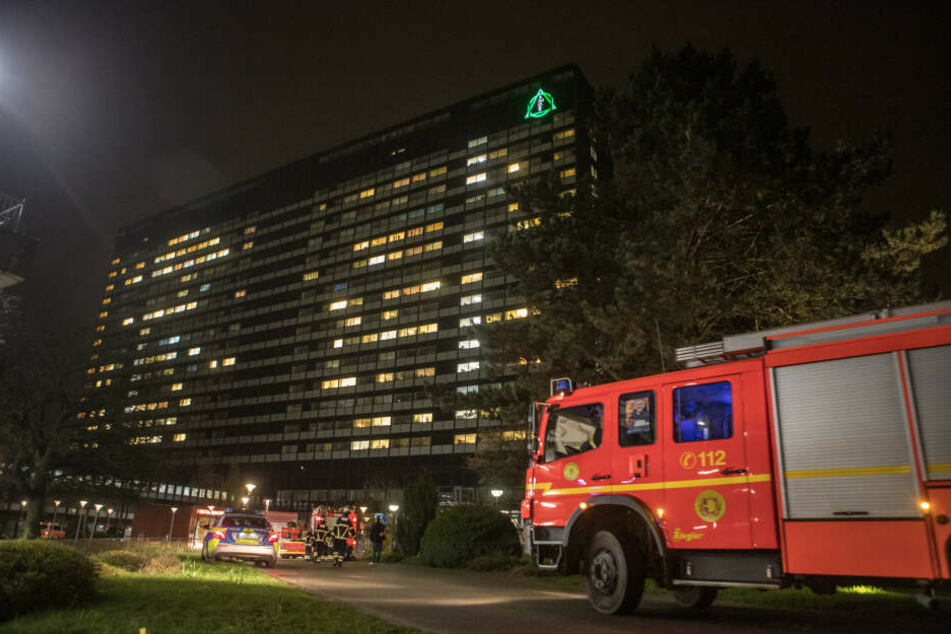 Die Feuerwehr konnte den Brandherd schnell ausfindig machen.