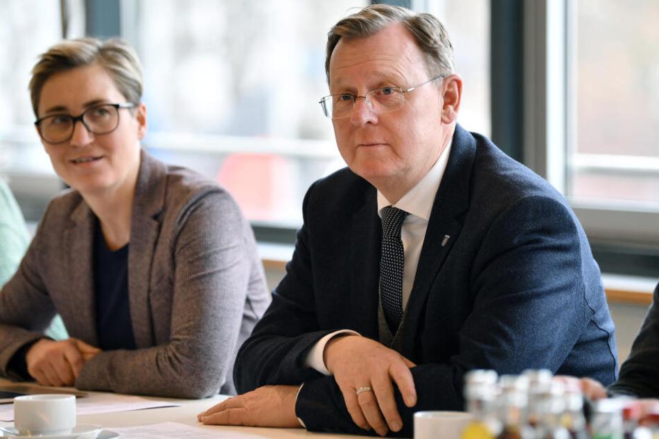 Die Linke setzt weiterhin auf den Ex-Ministerpräsidenten Bodo Ramelow.