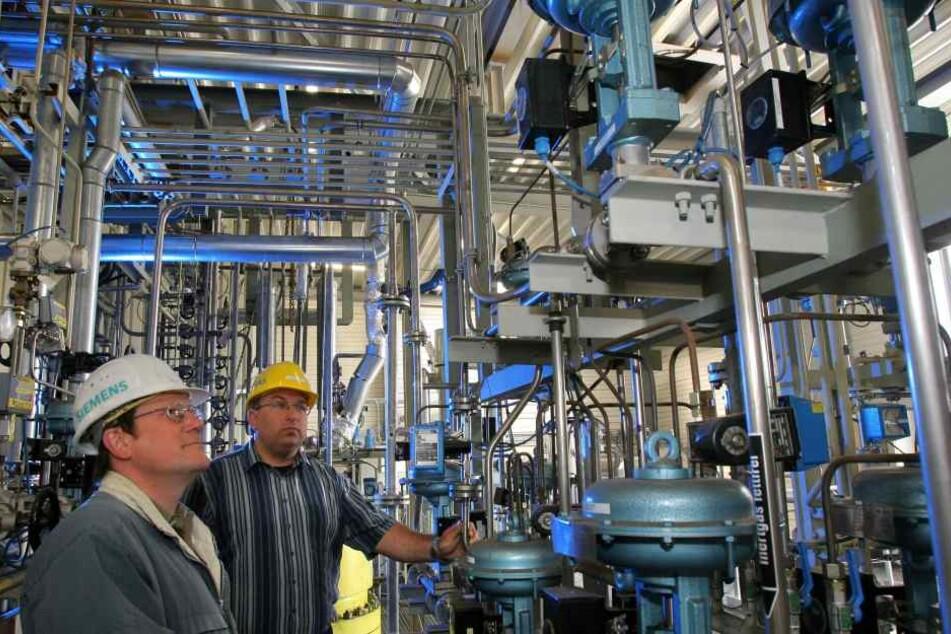 Im Freiberger Werk werden Systeme für die Kohlevergasung gefertigt, doch bald soll der Standort schließen.