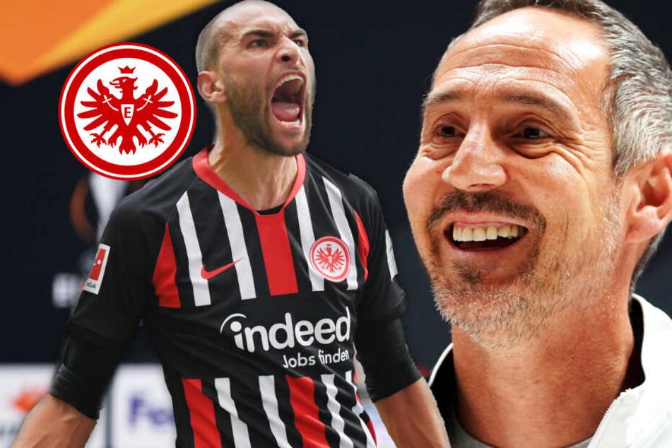 Vor Eintracht-Match auf Schalke: Überraschendes Comeback von Bas Dost?