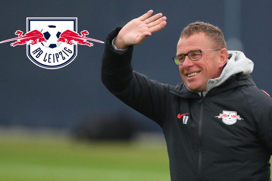 Nach drei Tagen Arbeit: RB Leipzig macht schon frei
