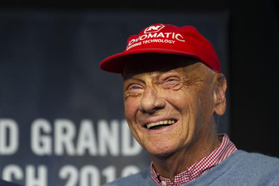 """Formel-1-Legende Niki Lauda kann über """"seinen"""" Sommerhit schmunzeln."""