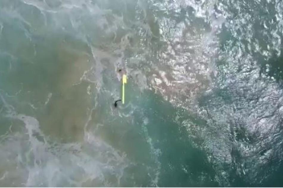 Die Rettungsaktion per Drohne war eine absolute Weltpremiere.