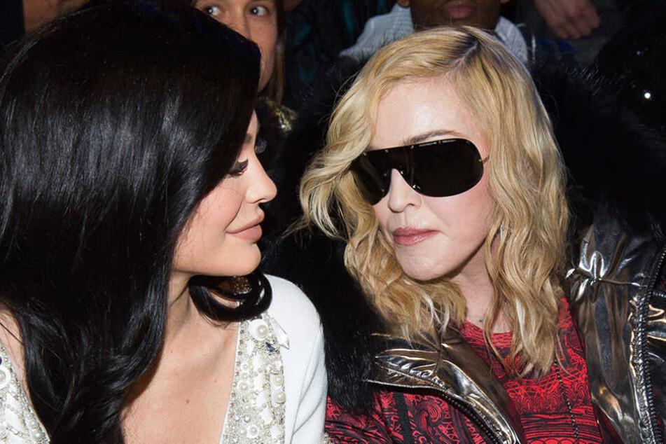 Prominenz im Publikum: Kylie Jenner und Madonna schauten sich die neuste Mode bei der New York Fashion Week an.