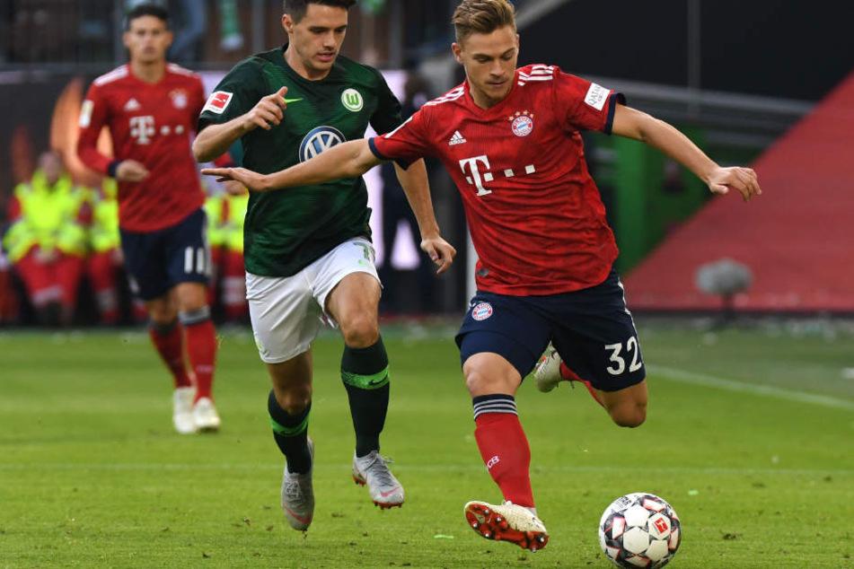 Die Defensive des FC Bayern München wirkte gegen Wolfsburg nicht immer sattelfest.