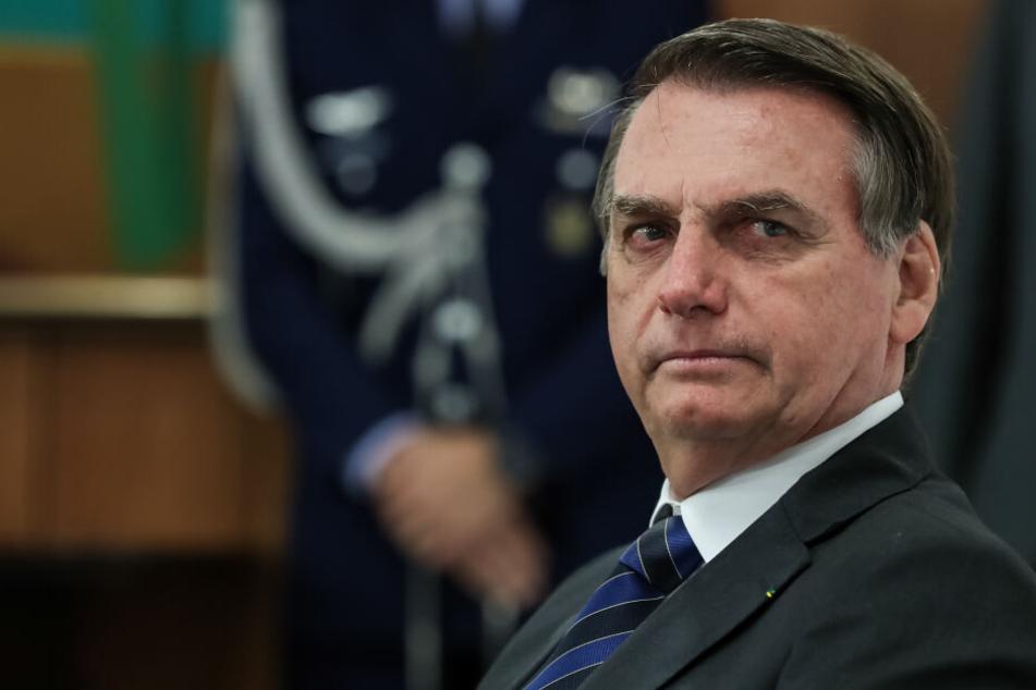 Präsident Jair Bolsonaro (64).