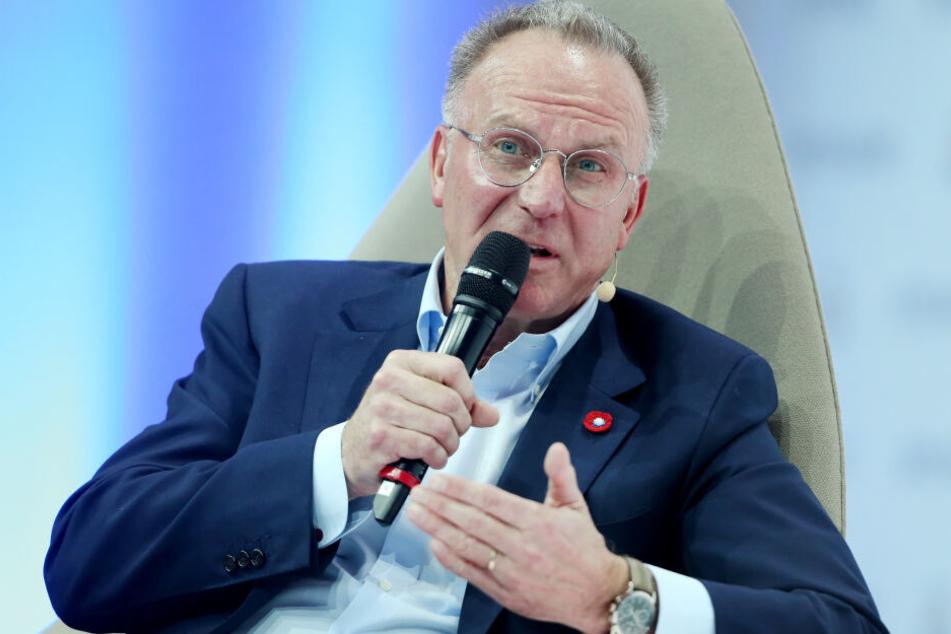 Vorstandschef Rummenigge hatte klar gestellt, dass kein Job beim FC Bayern sicher ist.