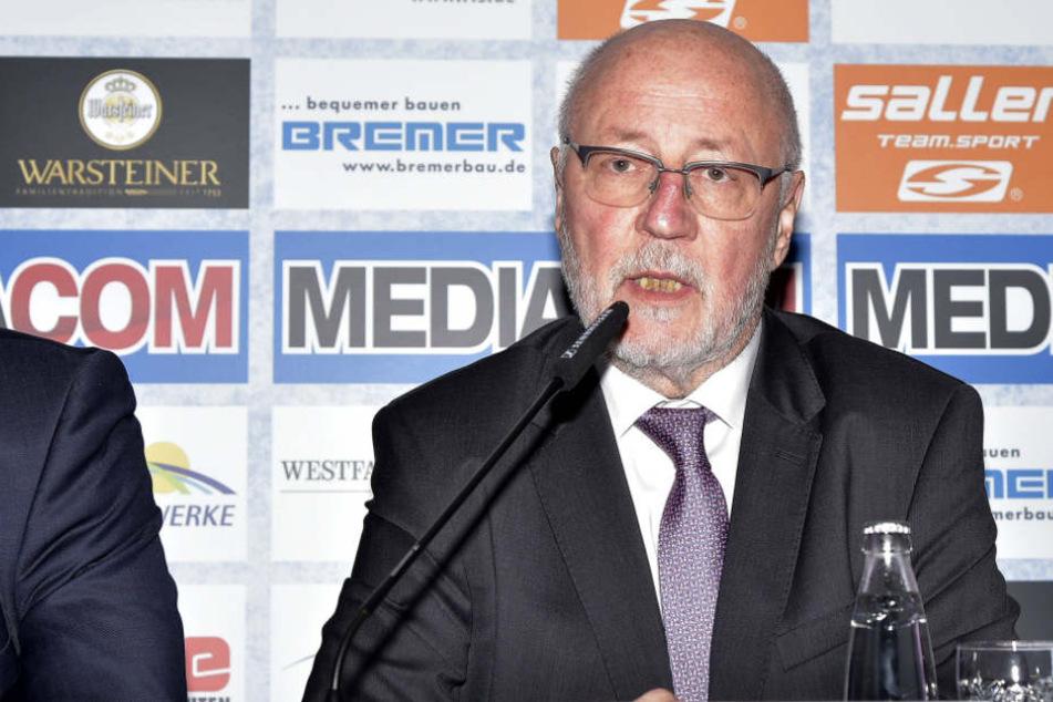 Elmar Volkmann wird neuer Präsident des SCP.