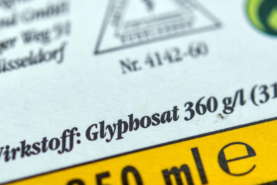 Glyphosat steht im Verdacht krebserregend zu sein.
