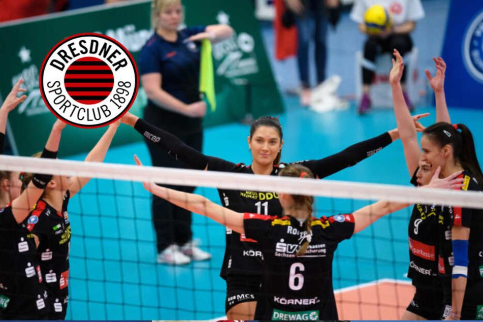 Dresdner SC gewinnt im Schnelldurchgang in Münster