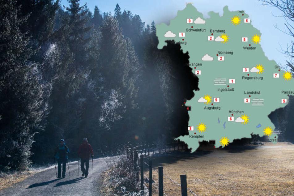 Dieses Wetter erwartet Dich in Bayern, sobald sich der Nebel auflöst