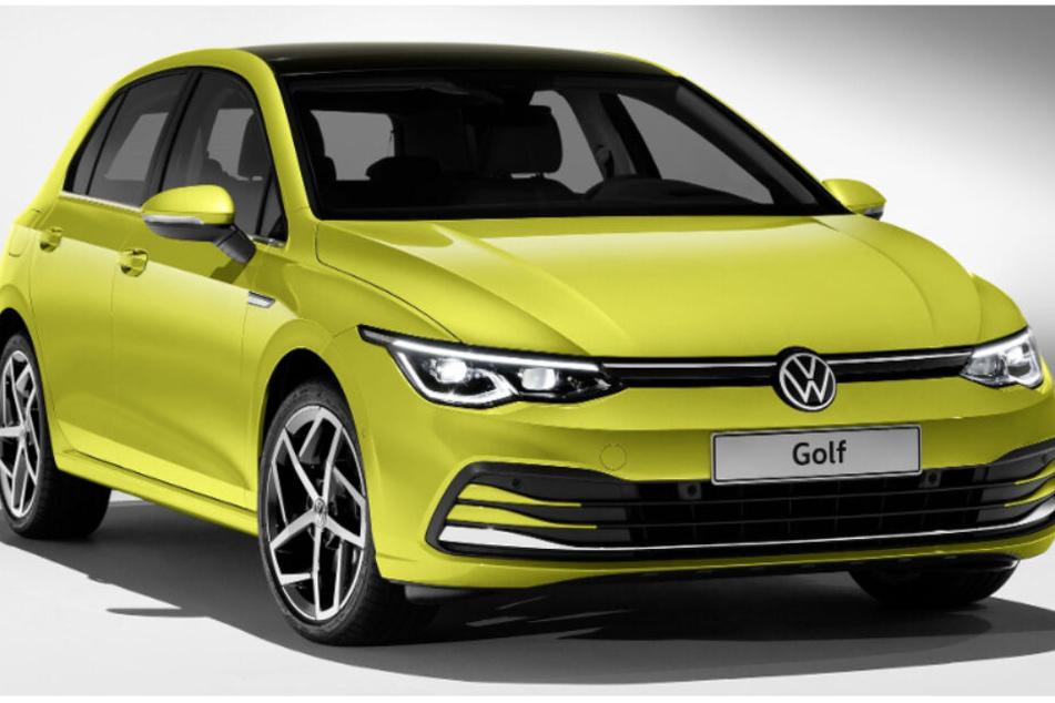 Das ist der neue Golf VIII, vor allem im Inneren hat sich einiges verändert.