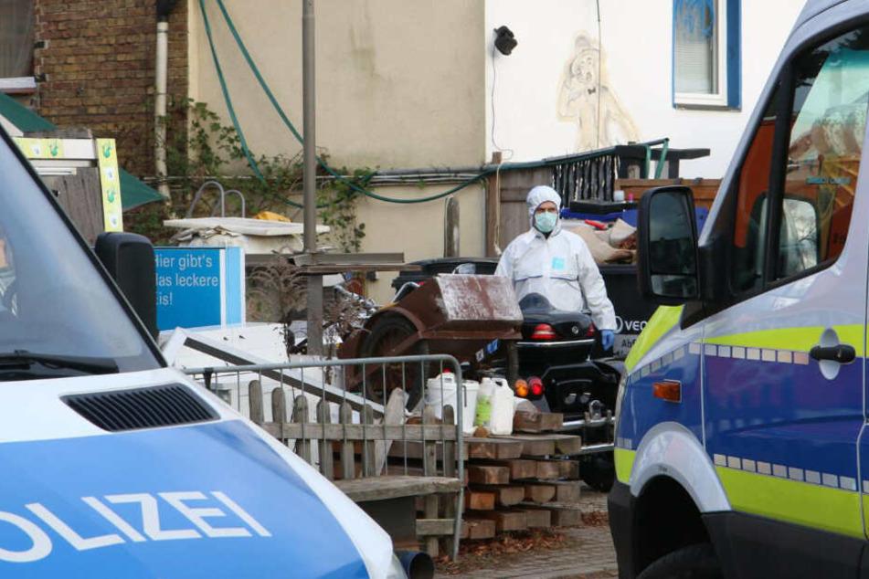 In Blankenfelde ist eine Leiche entdeckt worden.