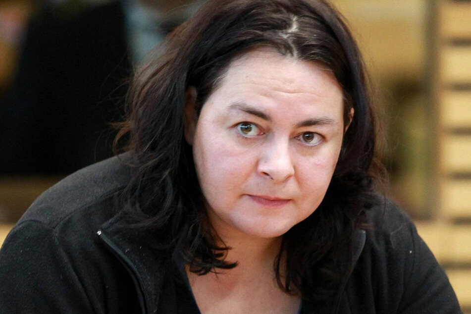 Thüringens Linken-Landtagsabgeordnete Katharina König (38).