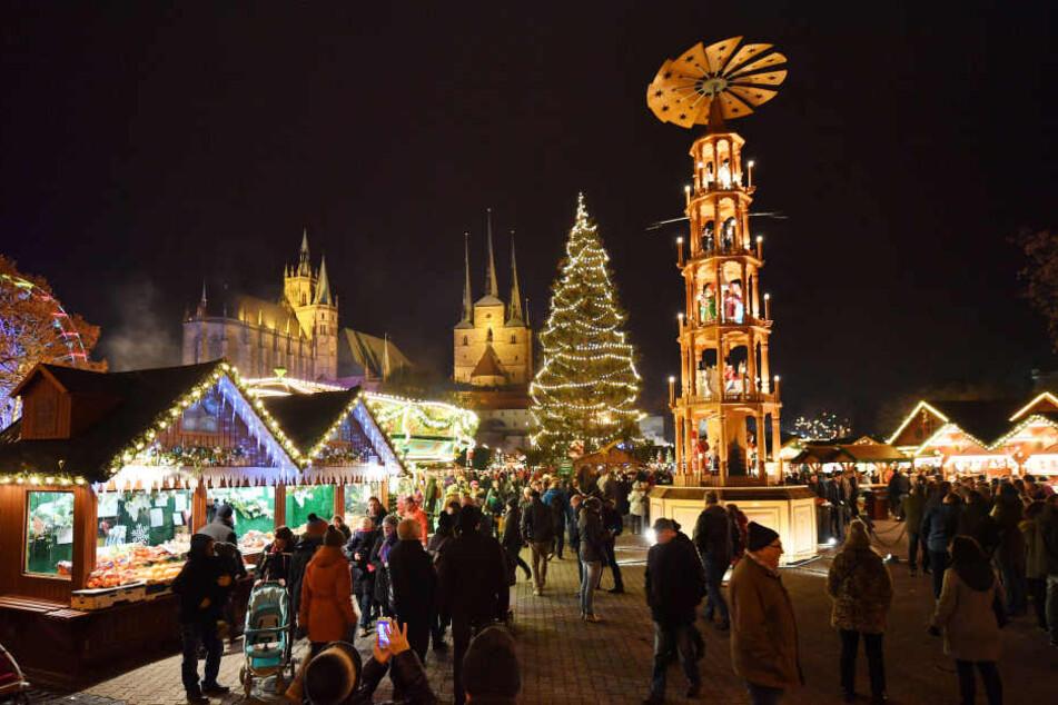 Weihnachtliche Vorfreude: Das geht am Samstag in Thüringen