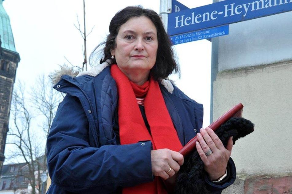 Stadträtin Christiane Drechsel (54, CDU) fordert eine Babyklappe für Zwickau.