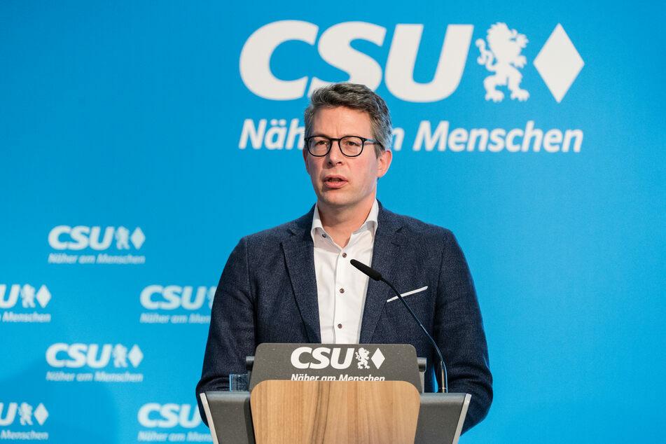 CSU-Generalsekretär Markus Blume (45) fordert ein strikteres Umsetzen der Pandemie-Maßnahmen in allen Bundesländern. (Archiv)