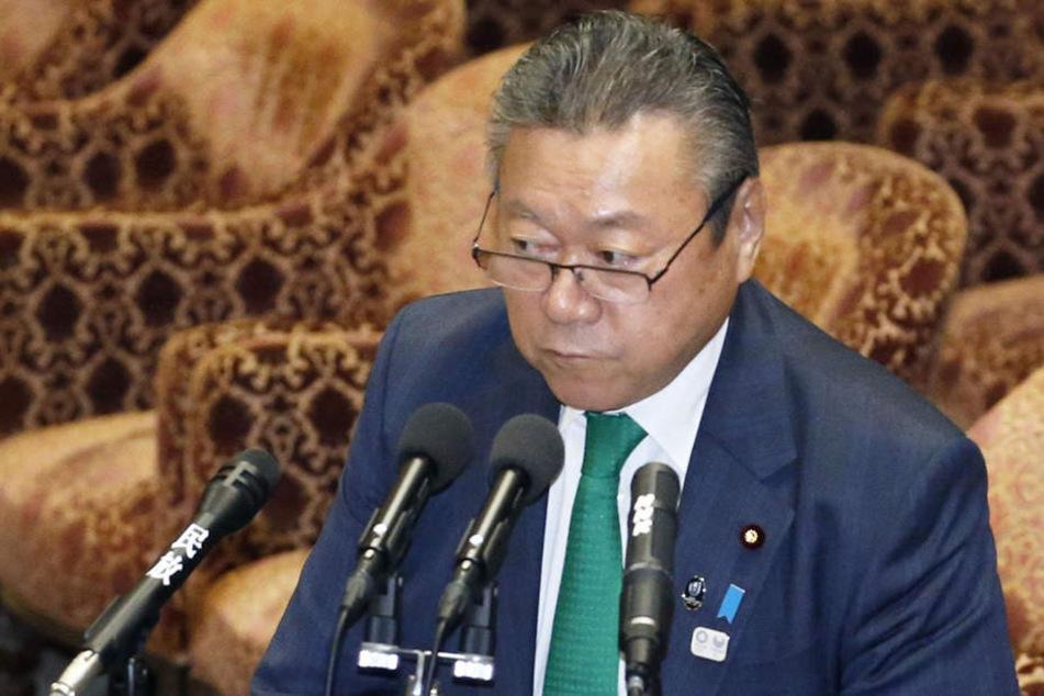 Der japanische Minister Yoshitaka Sakurada überraschte mit seiner Aussage.