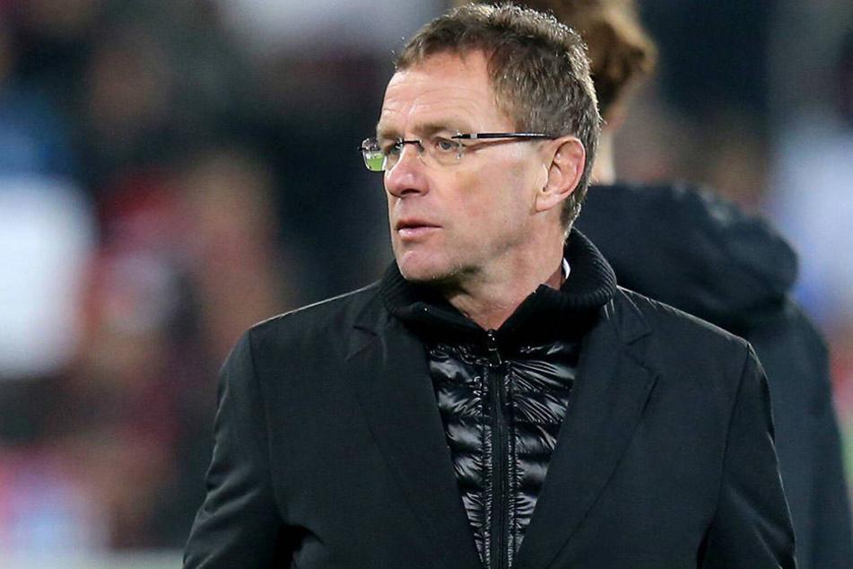 Ralf Rangnick sieht die verbalen Attacken der Bayern als eine Form der Wertschätzung.