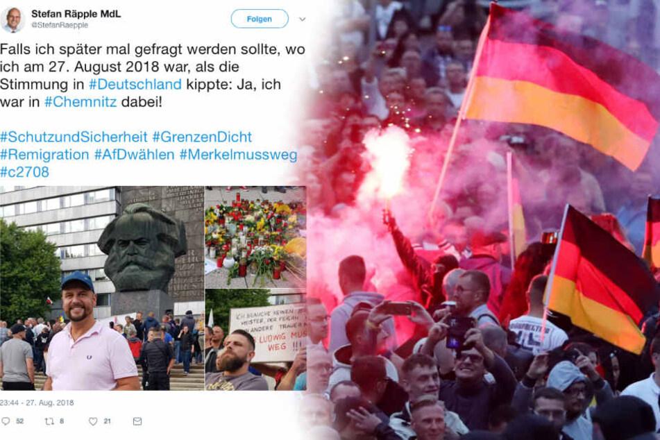 Nach Teilnahme von AfD-Politikern in Chemnitz: Partei äußert sich heute