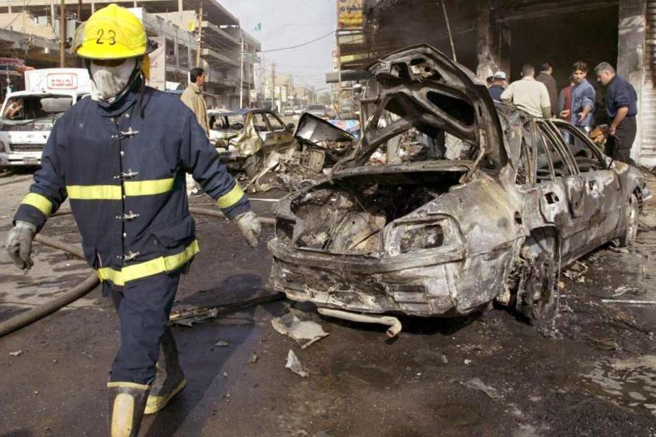 Innerhalb von wenigen Stunden explodierten zwei Bomben in Bagdad. (Symbolbild)