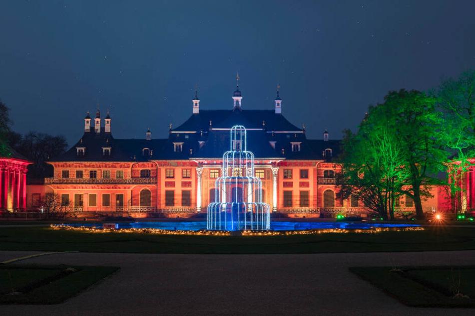 """Beliebtes Highlight zur Weihnachtszeit: """"Christmas Garden"""" in Schloss und Park Pillnitz."""