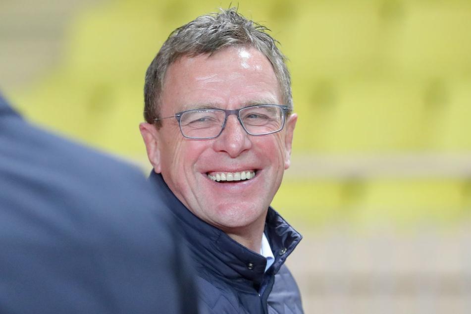 Ralf Rangnick wird wohl bei RB Leipzig bleiben.