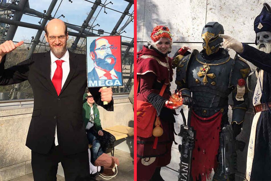 Nicht nur Comic-Figuren dienten als Kostümvorbild.