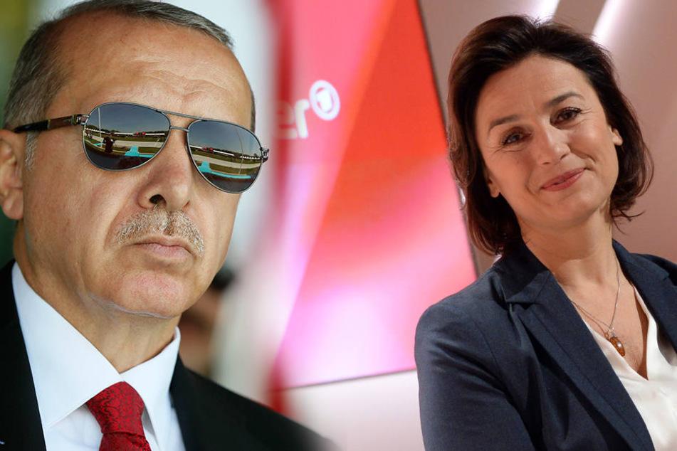 """Sandra Maischberger: """"Roter Teppich für Erdogan?"""""""