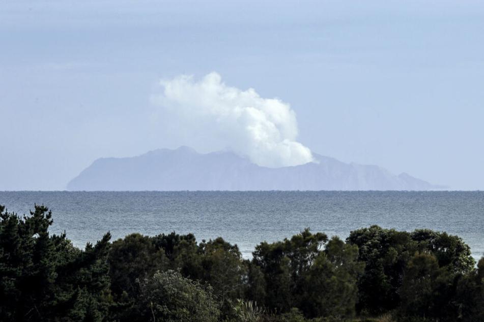 Bei dem Vulkanausbruch in Neuseeland starben 21 Menschen.