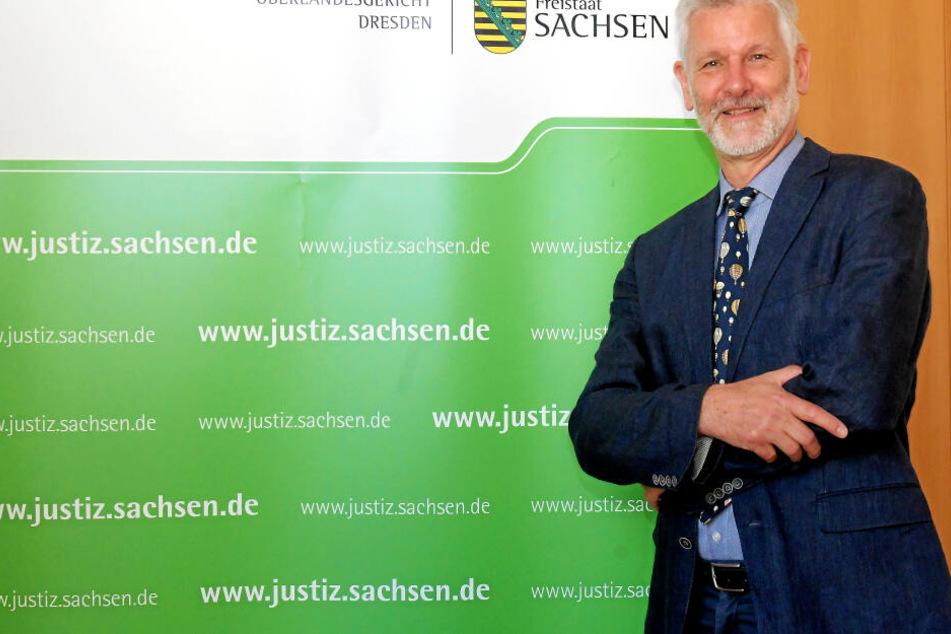 OLG-Präsident Gilbert Häfner (64).