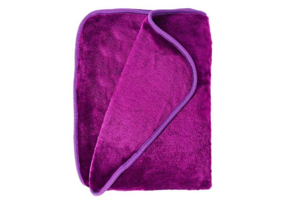 Mit Rebecca verschwand auch eine rosa Fleece-Decke.