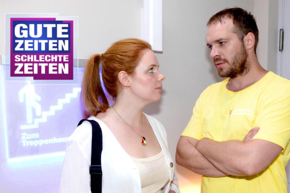 """GZSZ: Abschiedsdrama bei GZSZ: """"Sag was und ich bleibe!"""""""