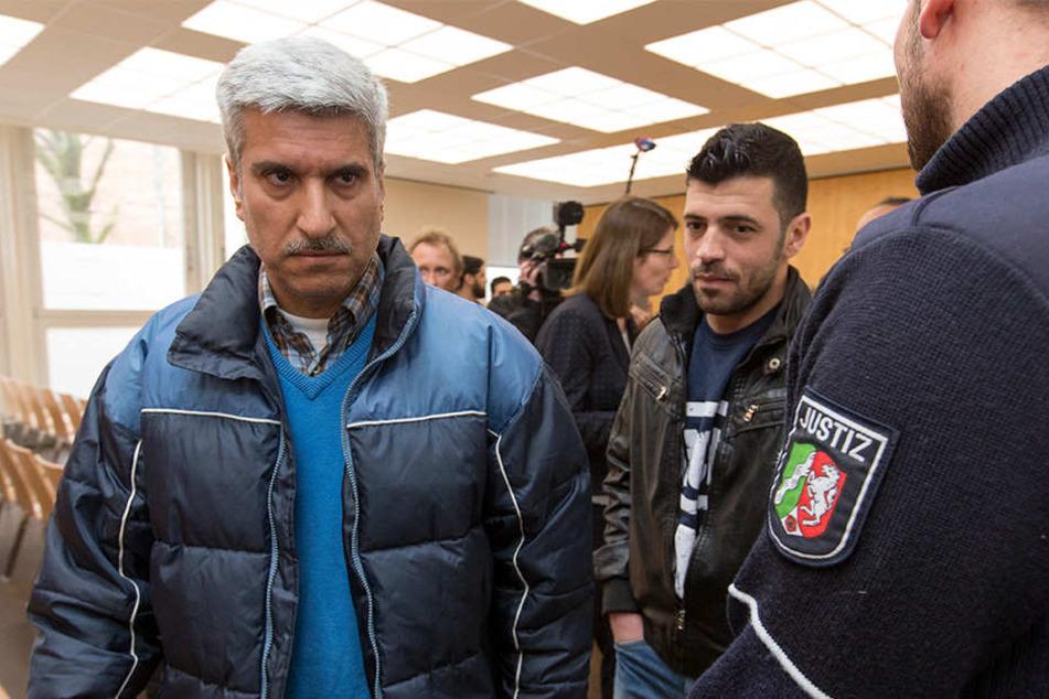 Asylbewerber Ahmad Aldarwish (links) aus Syrien hatte von der Bundesrepublik Deutschland vollen Flüchtlingsstatus gefordert. Die Klage wurde abgewiesen.
