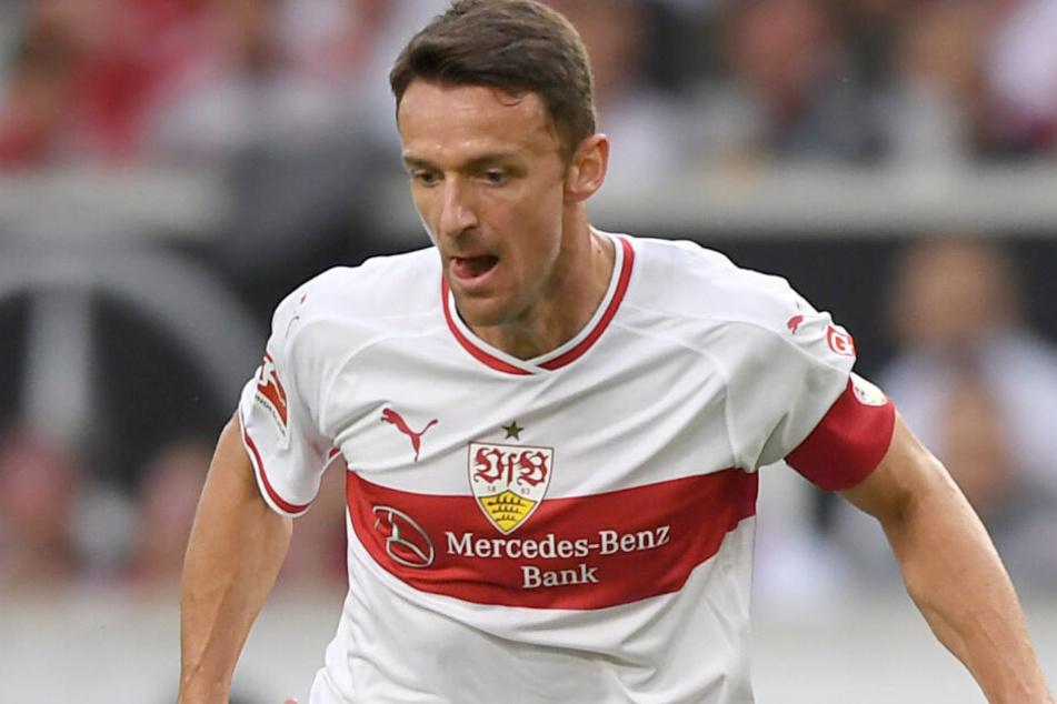 VfB-Kapitän Christian Gentner ist wieder fit.