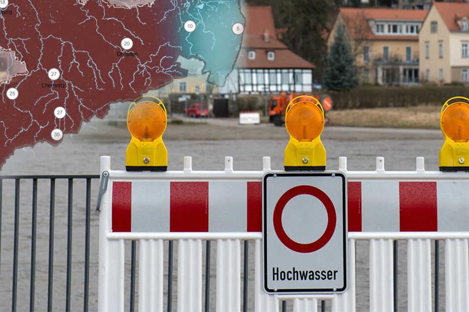 Starkregen! Droht Dresden ein neues Hochwasser?