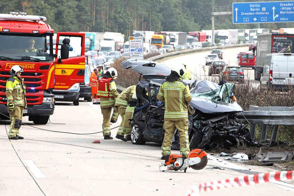 Immer wieder mussten die Kameraden zu schweren Unfällen auf die A4 ausrücken.