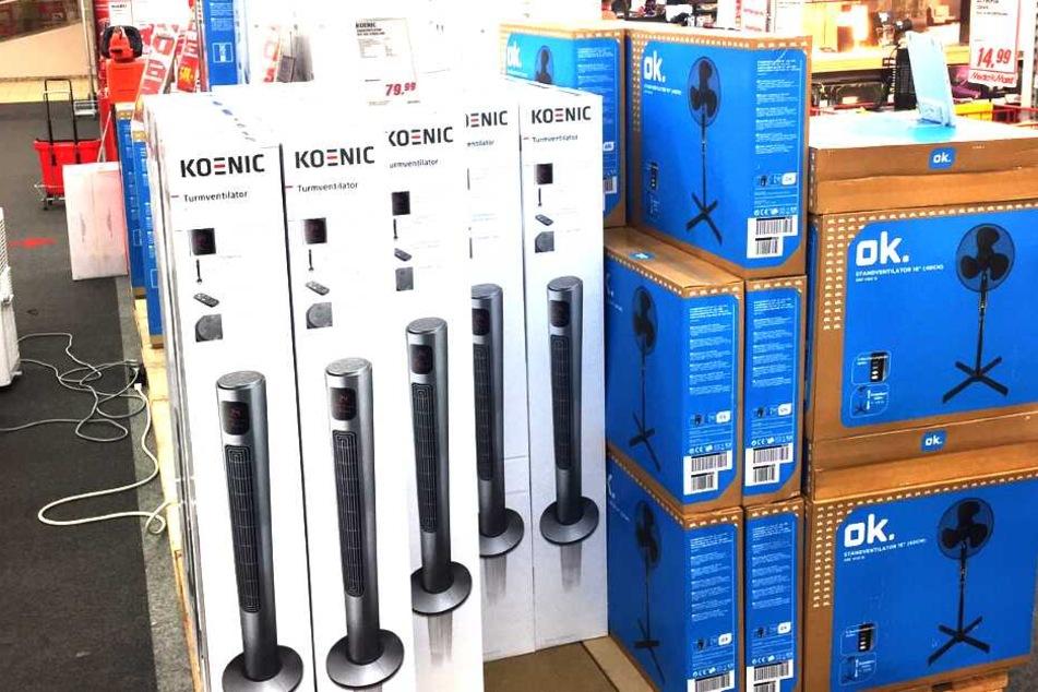 Ranhalten und abkühlen: Im MediaMarkt Alzey könnt Ihr jetzt die letzten Kühlgeräte abstauben.